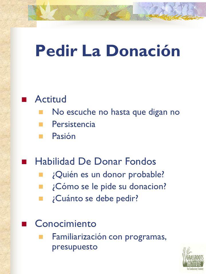 Pedir La Donación Actitud Habilidad De Donar Fondos Conocimiento