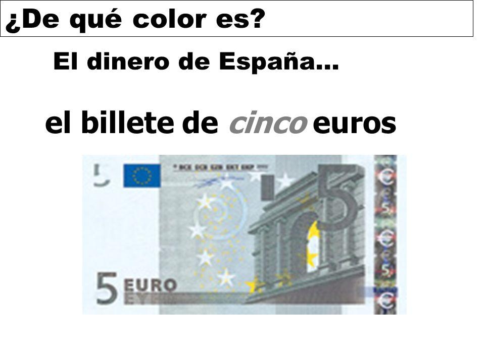 el billete de cinco euros