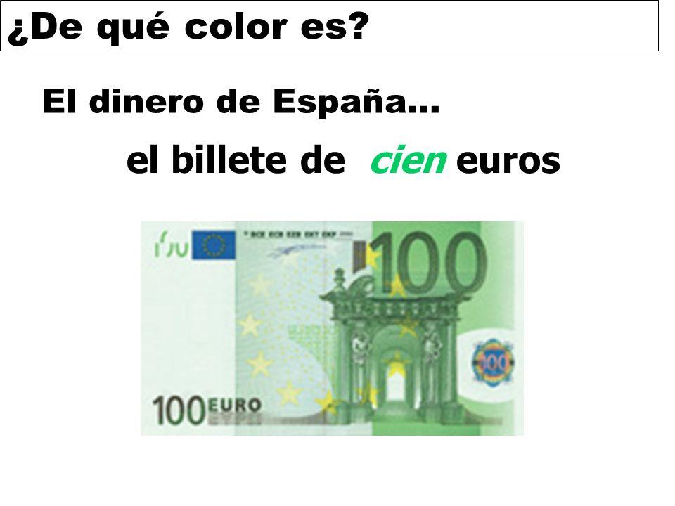 el billete de cien euros