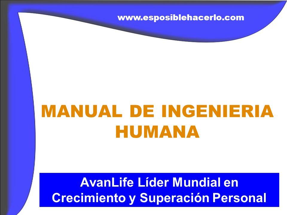 MANUAL DE INGENIERIA HUMANA