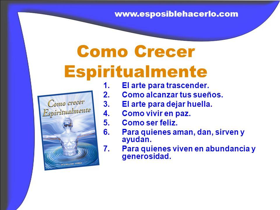Como Crecer Espiritualmente