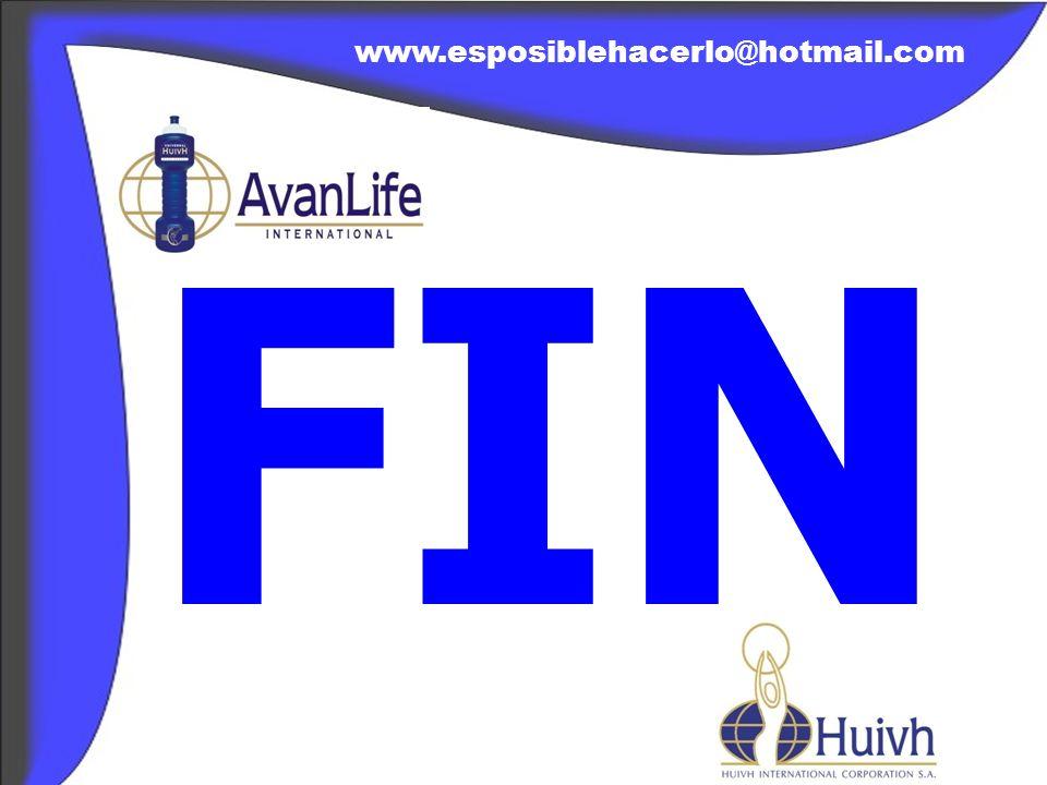 www.esposiblehacerlo@hotmail.com FIN