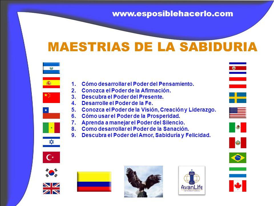 MAESTRIAS DE LA SABIDURIA