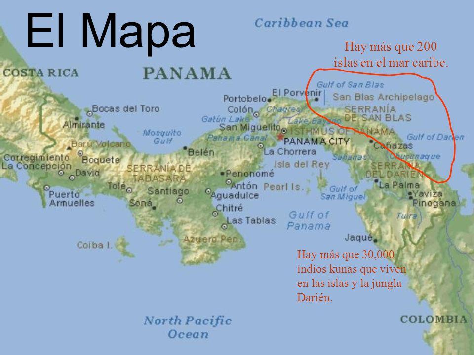 Hay más que 200 islas en el mar caribe.