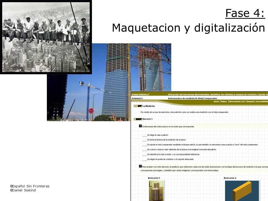 Maquetacion y digitalización