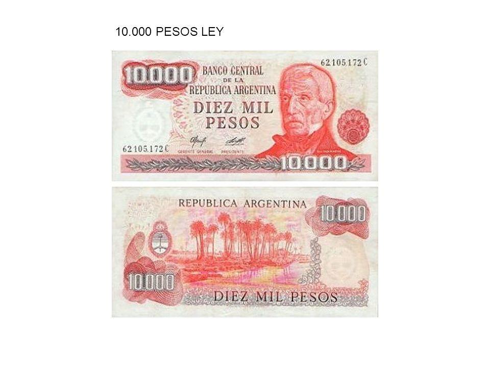 10.000 PESOS LEY