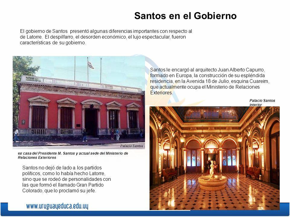Santos en el Gobierno