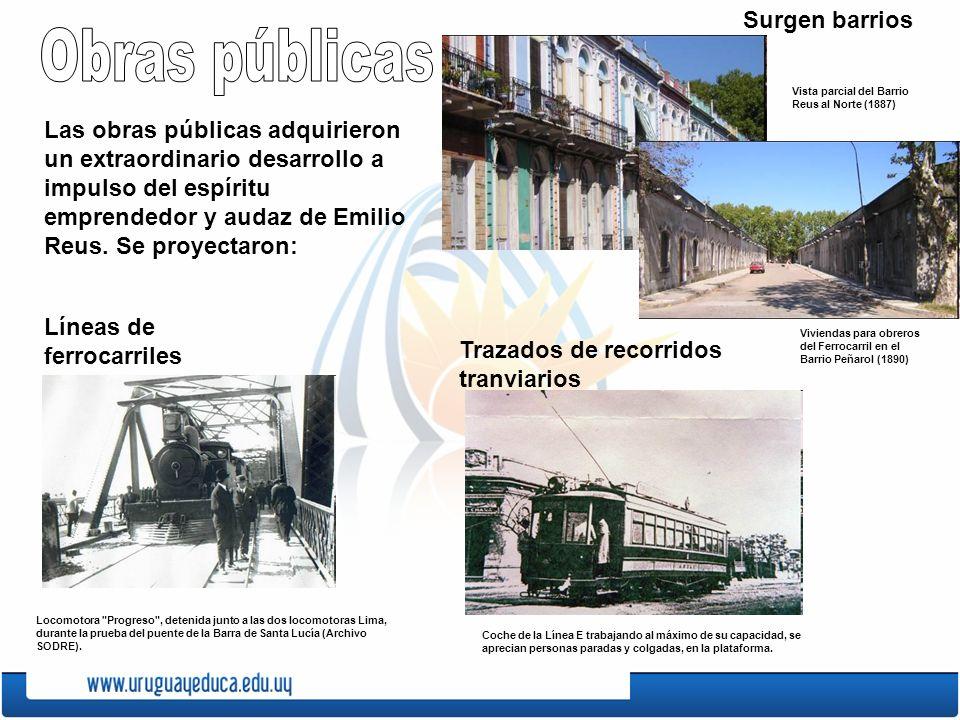 Obras públicas Surgen barrios