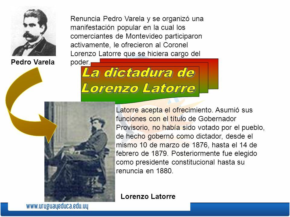 La dictadura de Lorenzo Latorre