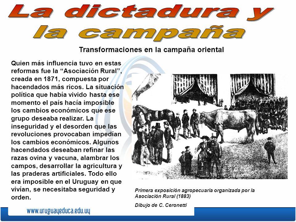 La dictadura y la campaña