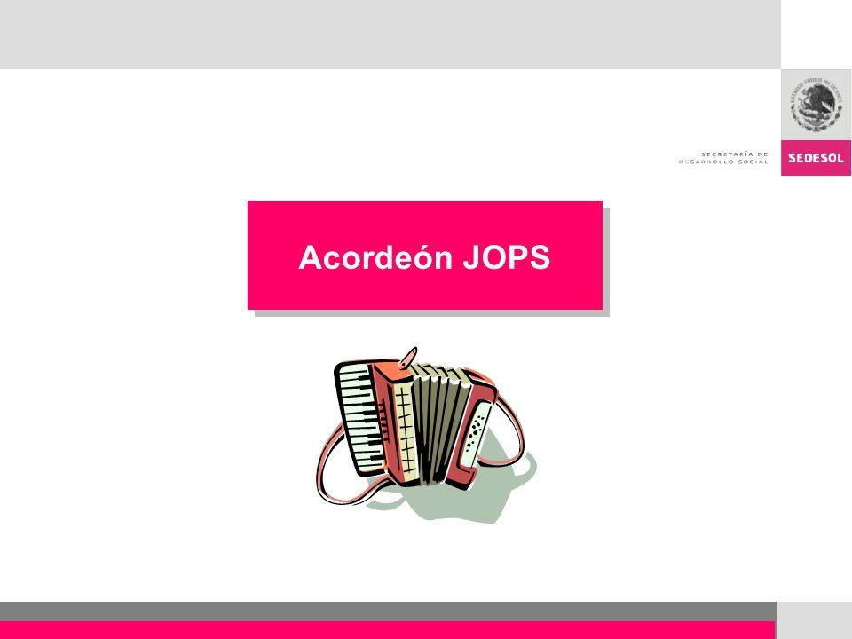 Acordeón JOPS