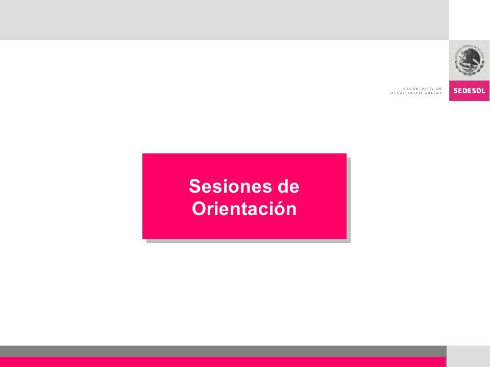 Sesiones de Orientación