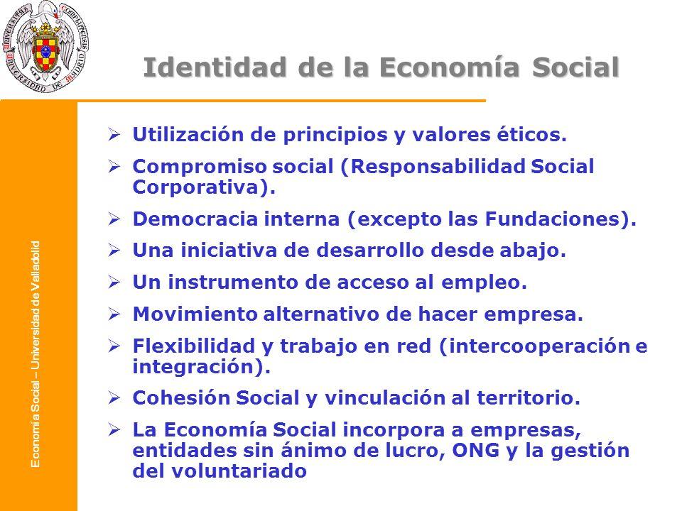 Identidad de la Economía Social
