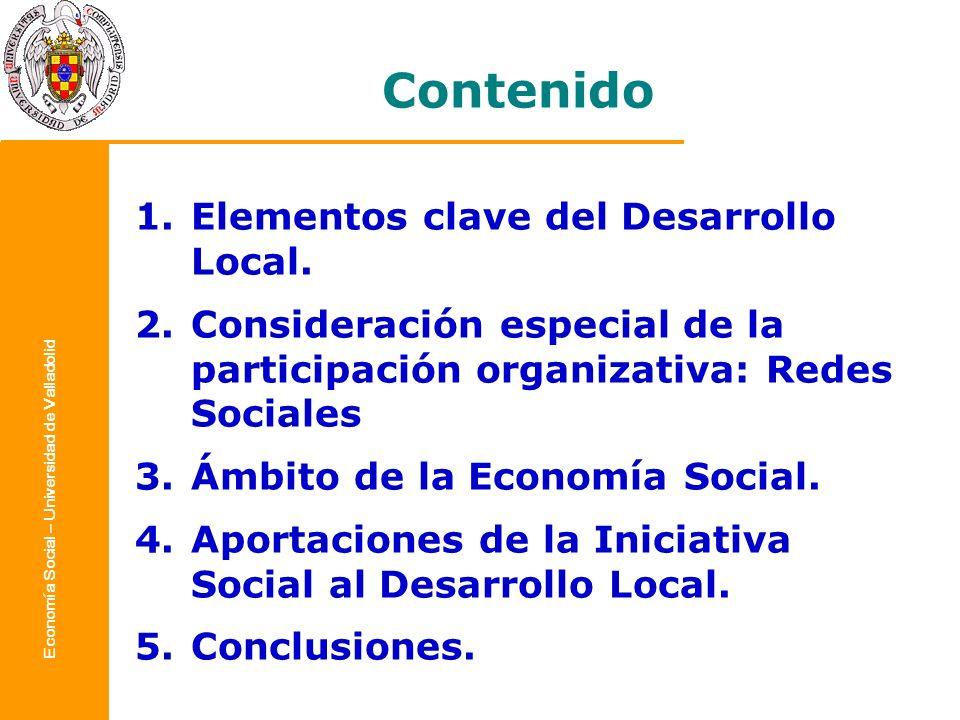 Economía Social – Universidad de Valladolid