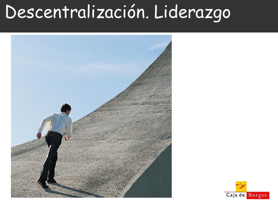 Descentralización. Liderazgo