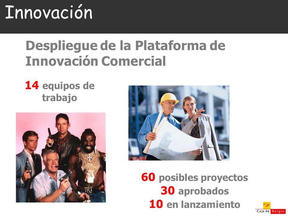 Innovación Despliegue de la Plataforma de Innovación Comercial