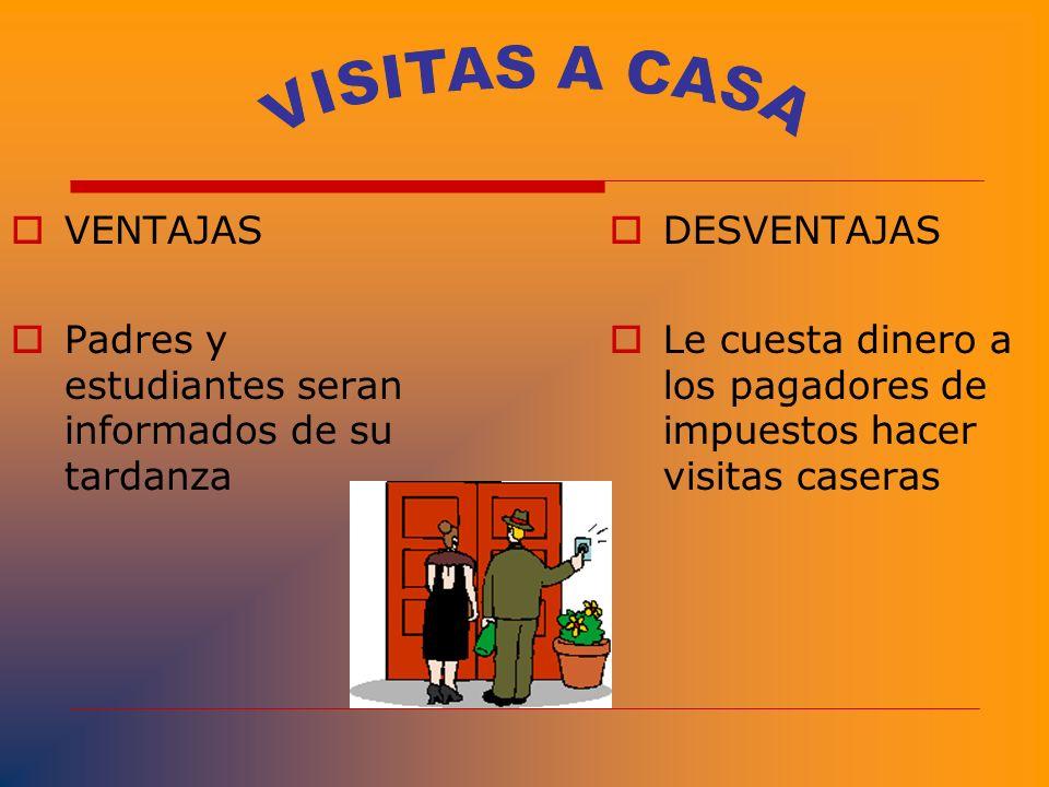 VISITAS A CASA VENTAJAS