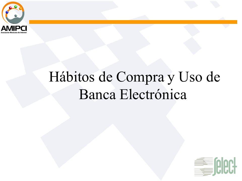 Hábitos de Compra y Uso de Banca Electrónica