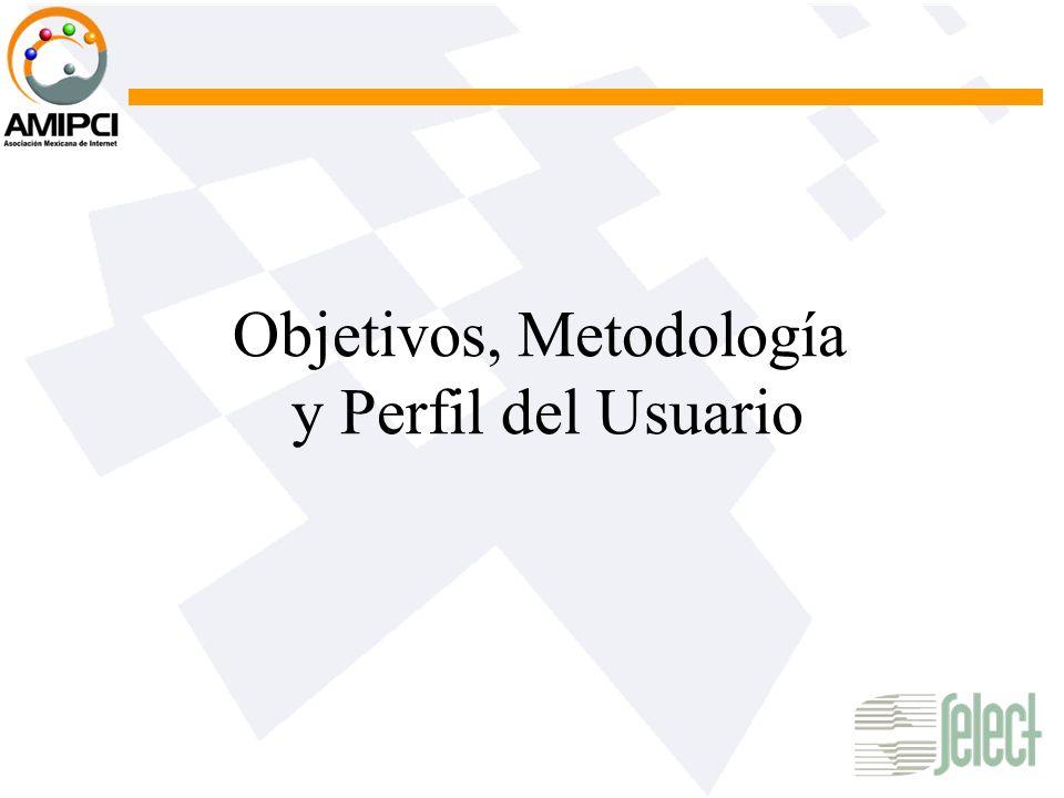 Objetivos, Metodología y Perfil del Usuario