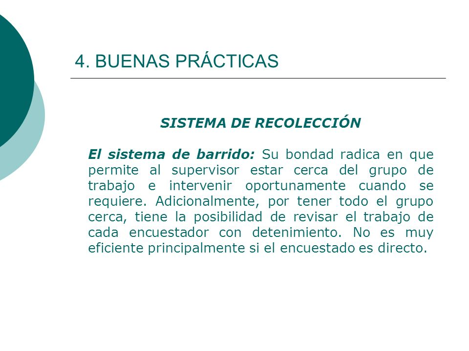 SISTEMA DE RECOLECCIÓN