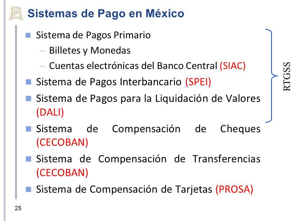 Sistemas de Pago en México