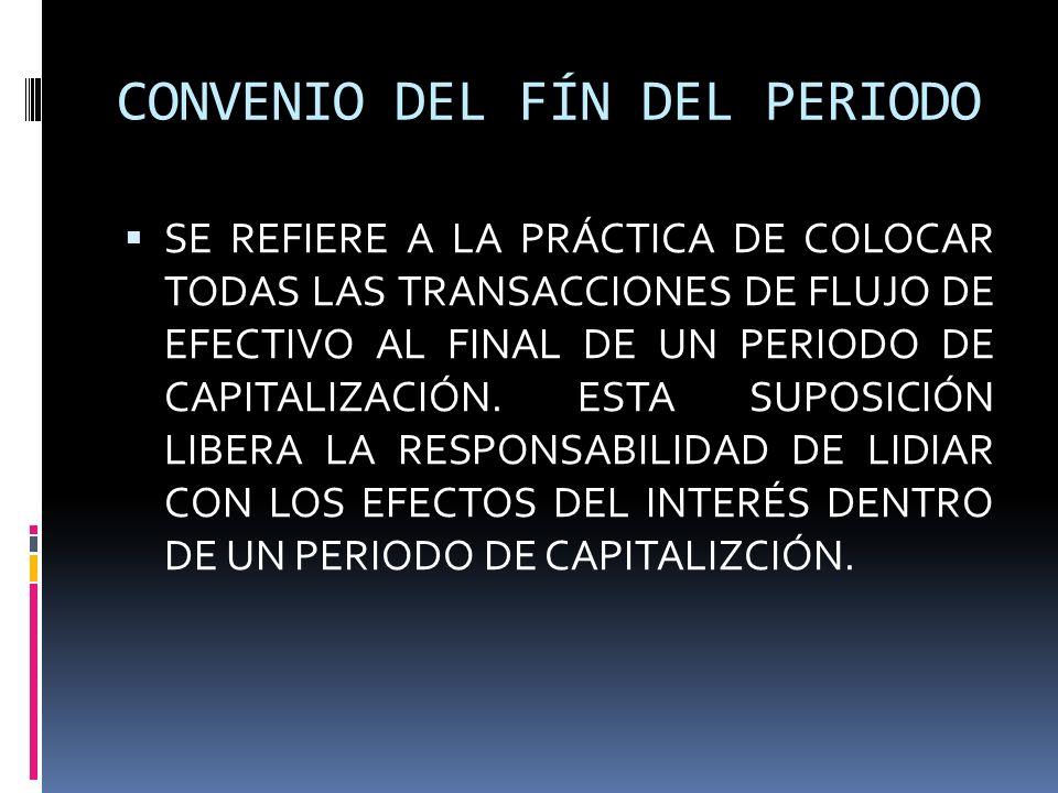 CONVENIO DEL FÍN DEL PERIODO