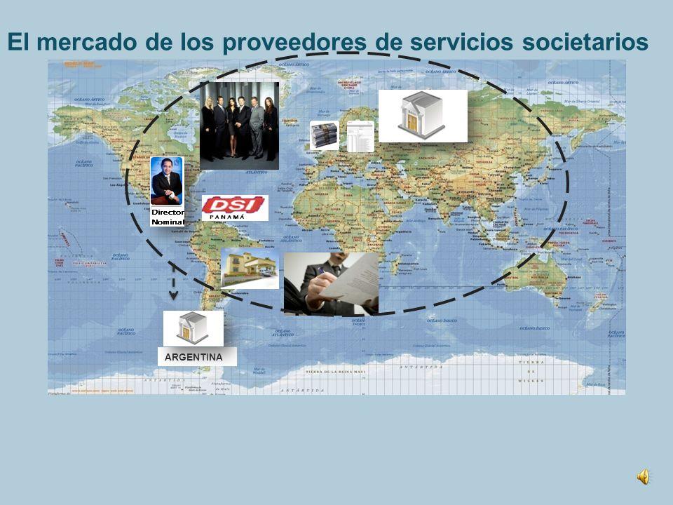 El mercado de los proveedores de servicios societarios