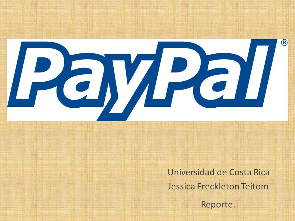Universidad de Costa Rica Jessica Freckleton Teitom Reporte.