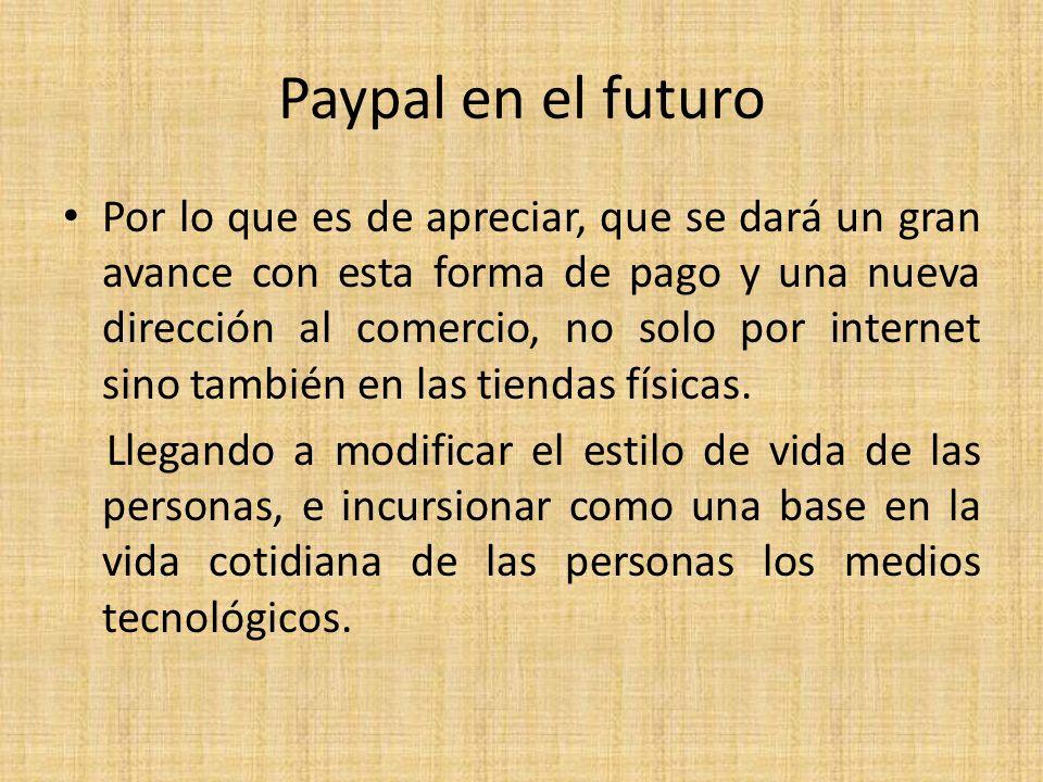 Paypal en el futuro