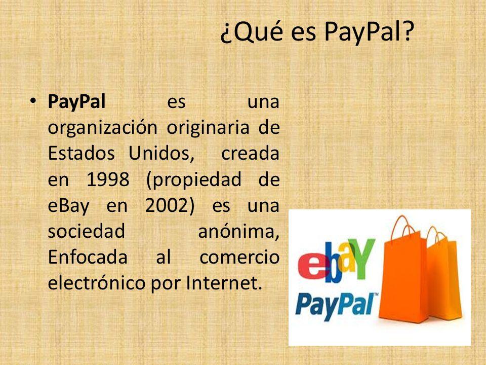 ¿Qué es PayPal