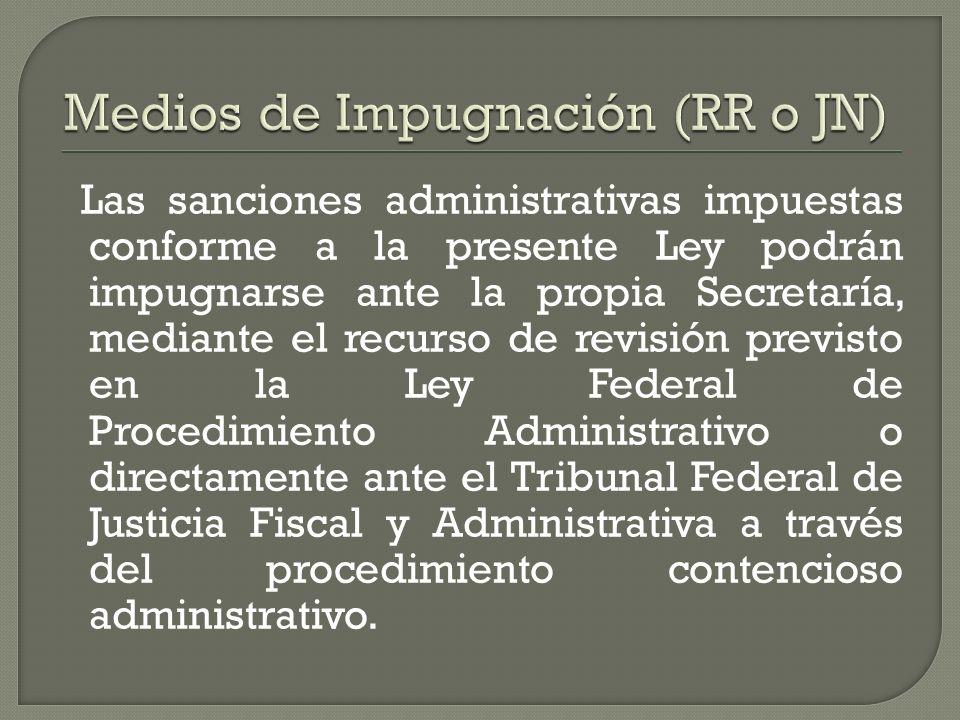 Medios de Impugnación (RR o JN)