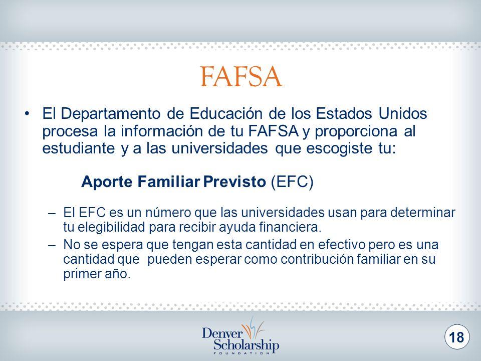 Factores que determinan el EFC