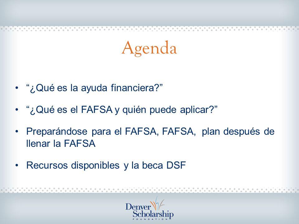 ¿Qué es la Ayuda Financiera