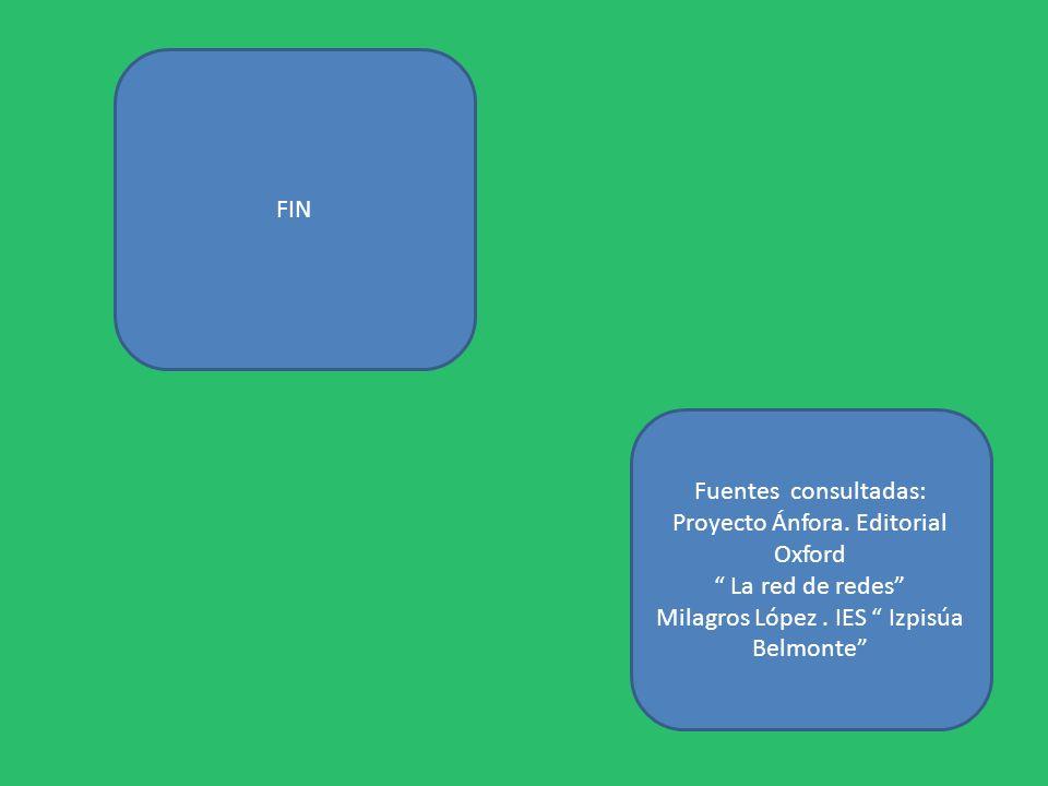 Proyecto Ánfora. Editorial Oxford La red de redes