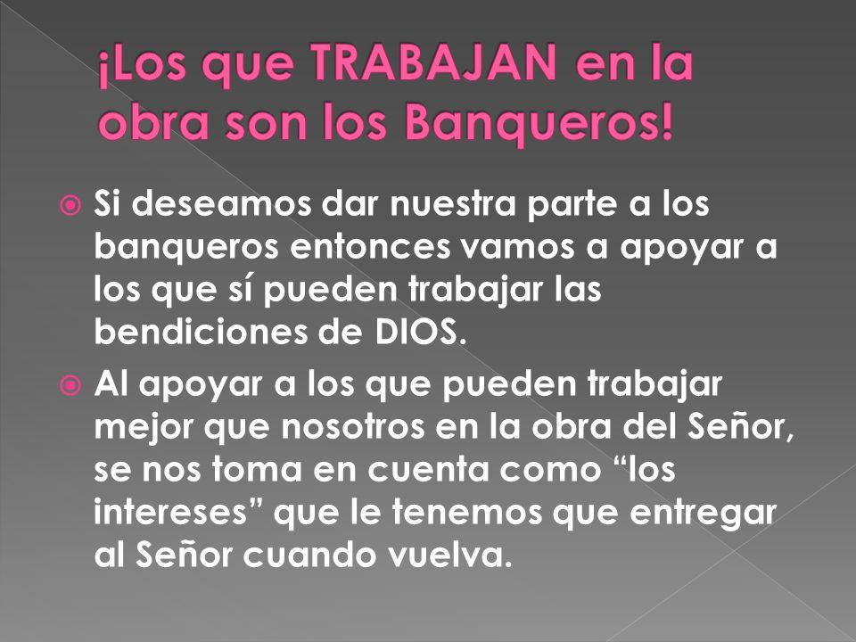 ¡Los que TRABAJAN en la obra son los Banqueros!