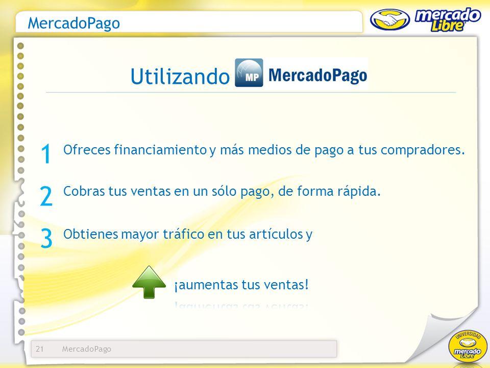 1 2 3 Utilizando MercadoPago