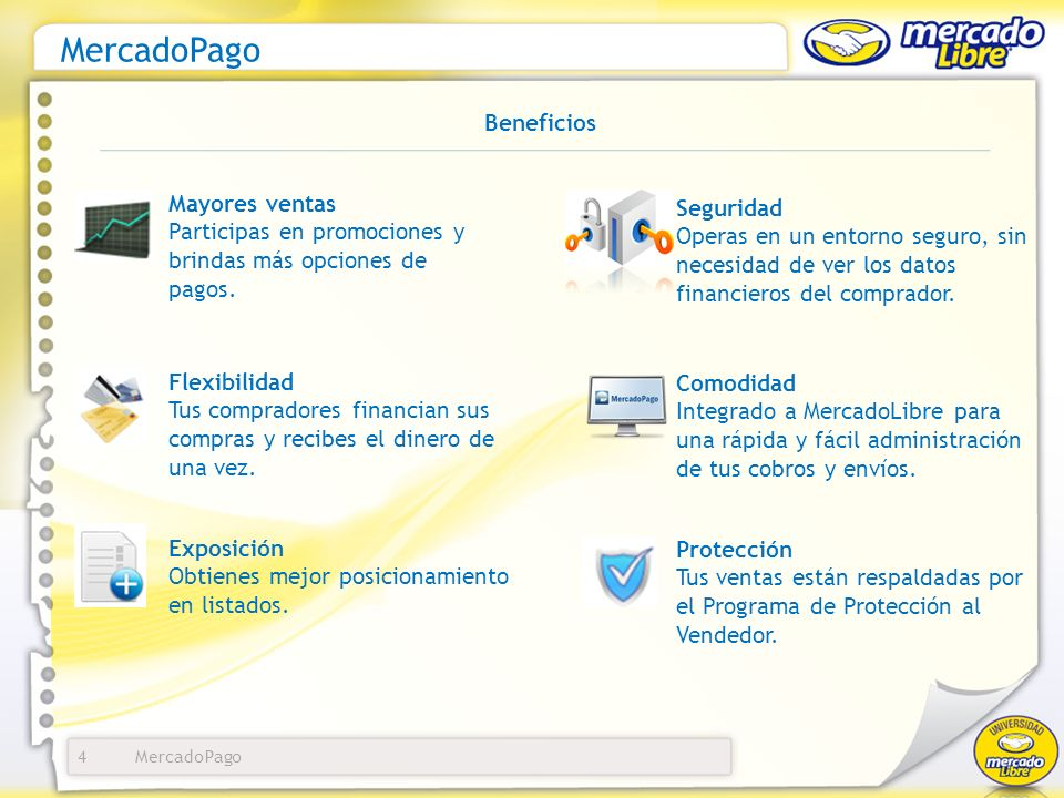MercadoPago Beneficios