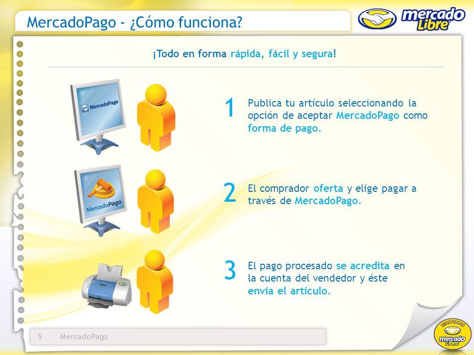 MercadoPago - ¿Cómo funciona