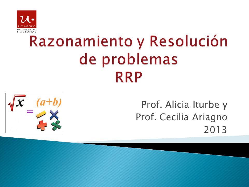 Razonamiento y Resolución de problemas RRP