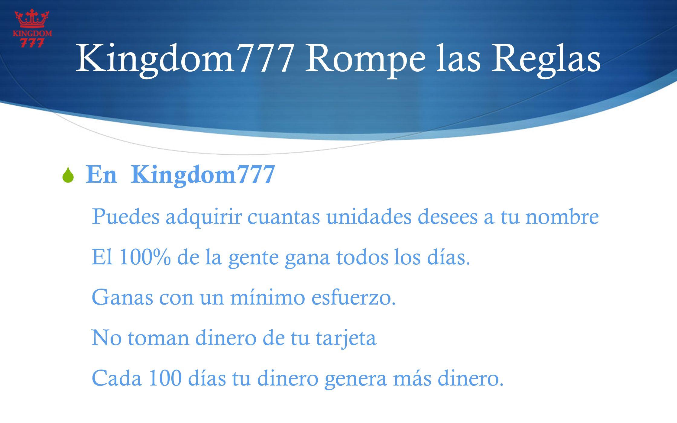 Kingdom777 Rompe las Reglas