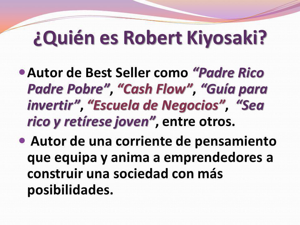 ¿Quién es Robert Kiyosaki