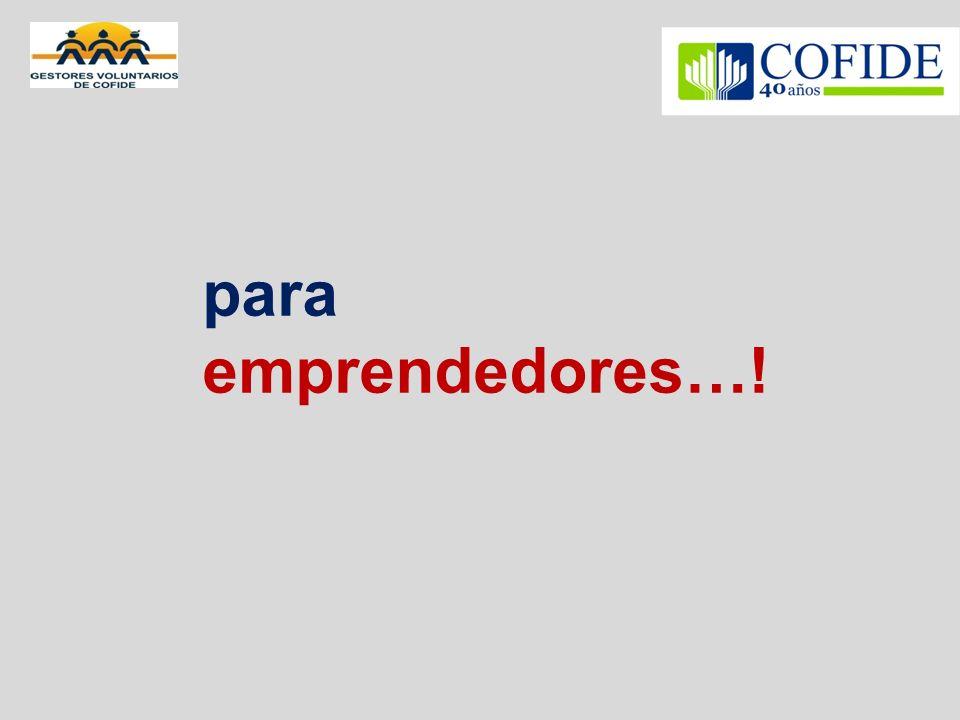 para emprendedores…!