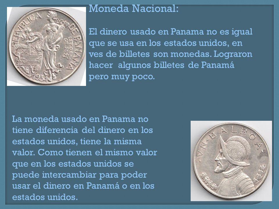 Moneda Nacional: