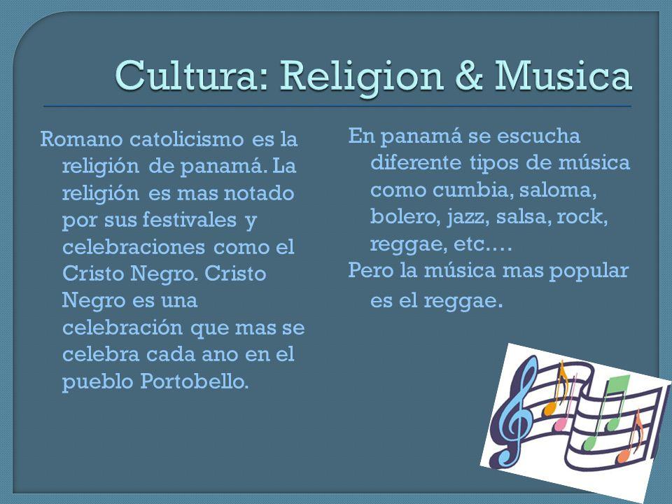 Cultura: Religion & Musica