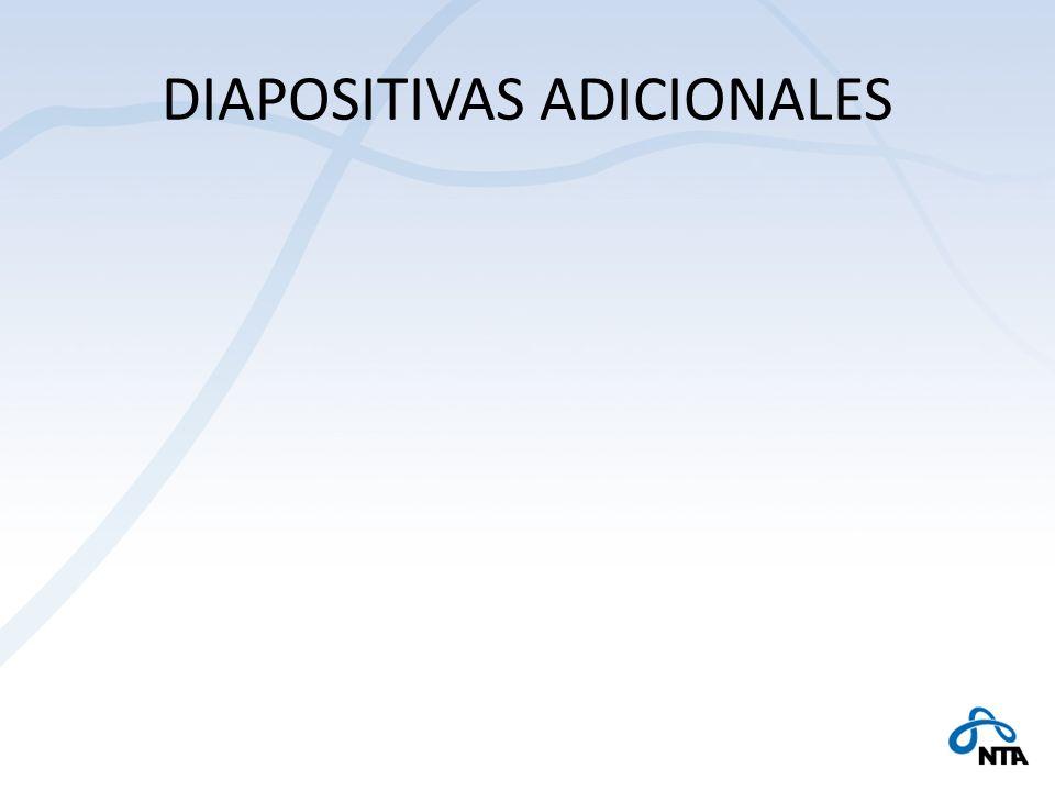 DIAPOSITIVAS ADICIONALES