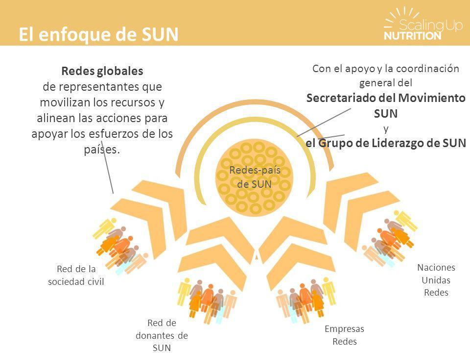 Secretariado del Movimiento SUN el Grupo de Liderazgo de SUN