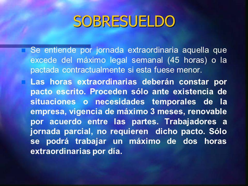 SOBRESUELDO