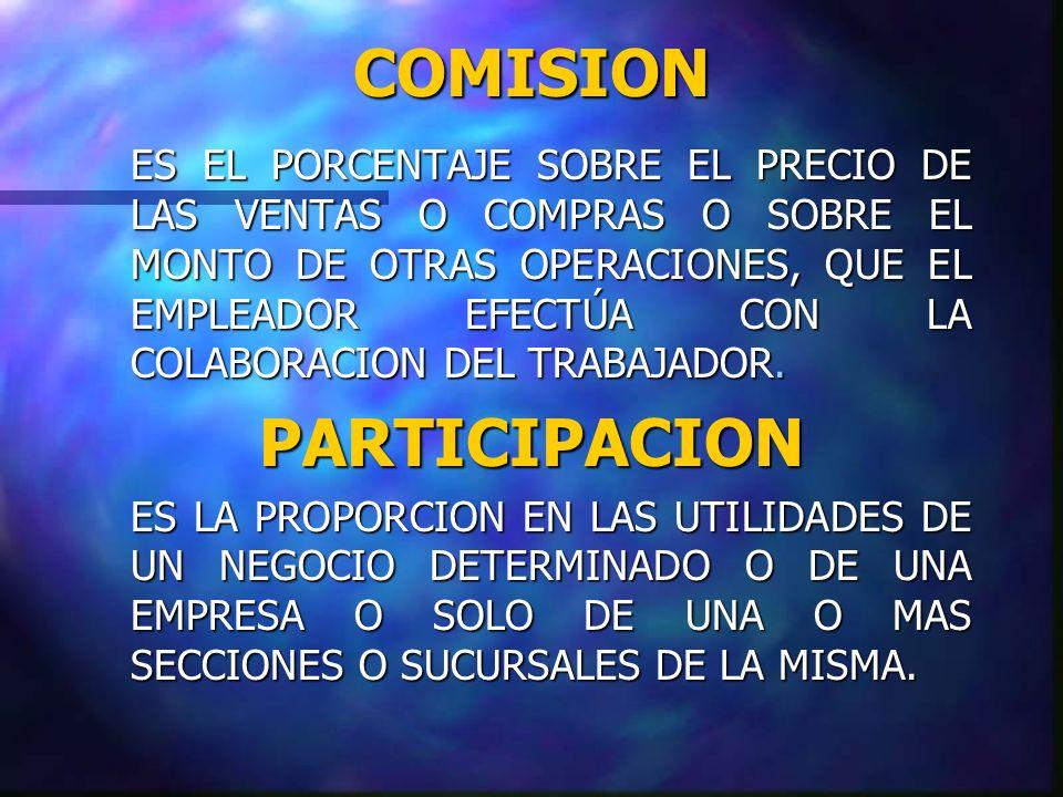 COMISION PARTICIPACION