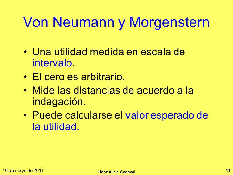 Von Neumann y Morgenstern