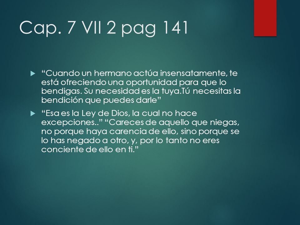 Cap. 7 VII 2 pag 141